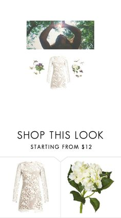 """""""Mother nature"""" by ladybugfromforestofdean ❤ liked on Polyvore featuring self-portrait, OKA and WALL"""