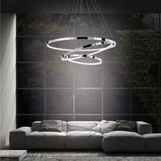 Led φωτιστικό σε μίνιμαλ γραμμή για το σαλόνι ή την τραπεζαρία του σπιτιού. Διαθέτει 2 δαχτυλίδια από αλουμίνιο χρώμιο όπου μπορείτε να τα προσαρμόσετε ακριβώς στο ύψος που θέλετε και να δώσετε στο φωτιστικό τη μορφή που προτιμάτε. Φωτιστικά LED Τα φωτιστικά Led παρέχουν καθαρό και δυνατό φως, σε συνδυασμό με το απλοϊκό και μοντέρνο … Bathtub, Led, Bathroom, Nova, Bath Tube, Bath Tub, Bathrooms, Tubs, Homemade Ice
