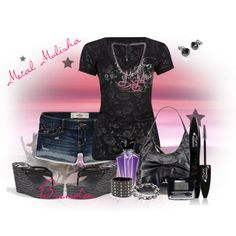 Sexy Metal Mulisha by brendakitten on Polyvore..This is for my girl toni :)