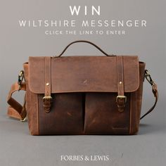 WIN A LEATHER WILTSHIRE MESSENGER BAG {WW} (10/11/2017) via... IFTTT reddit giveaways freebies contests