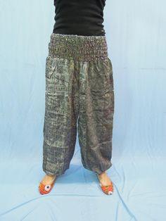 Vintage Silk Sari Trouser  Silk Harem Pants  by Labhanshi on Etsy, $25.00