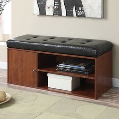 Andover Mills Houston Entryway Storage Bench