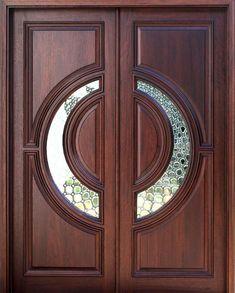 Elegant Double Doors Designs for Your Classy Home - Home Decor - Door Design Wooden Main Door Design, Double Door Design, Door Gate Design, Front Door Images, Unique Front Doors, Door Design Photos, Home Modern, Cool Doors, Double Doors