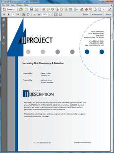 A Sample Property Development Business Plan Template