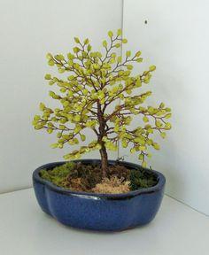 serpentine bonsai by sandrinasartistry on Etsy