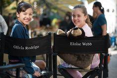 Olivia Rodrigo American Girl Movie | Eloise Webb and Olivia Rodrigo on the set of American Girl: Grace ...