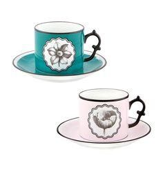 Arzberg porcelana tric tropic vaso café vaso con asas