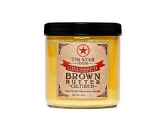 Cultured Brown Butter Ghee by Tin Star Foods ~ 32 oz