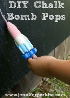 DIY bomb pop shaped