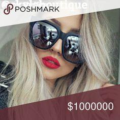 Coming soon!Classic fashion sunglasses Vintage mirror sunglasses Accessories Glasses