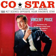 Act opposite Vincent Price and Don Ameche with this curious 1950s vinyl record game