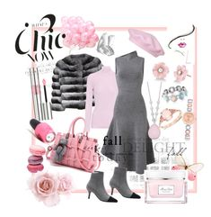A fashion look from February 2018 featuring knit dress, turtle neck top and evening jackets. Browse and shop related looks. Autumn Day, Harrods, Opi, Irene, Knit Dress, Christian Dior, Yves Saint Laurent, Prada, Fashion Looks