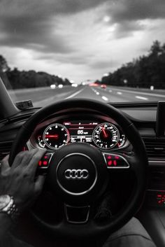 What a view... #audi #driver #driverseat #steeringwheel http://www.trustedcarbuyers.com/manufacturer/sell-my-audi