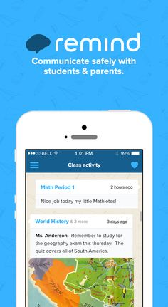 Hey! I have been using Remind to text my students and parents without sharing my personal phone number. You have to try it! It saves time, students love it and it is free! Here is the link: https://www.remind.com?rid=514955&utm_medium=web&utm_source=pinterest