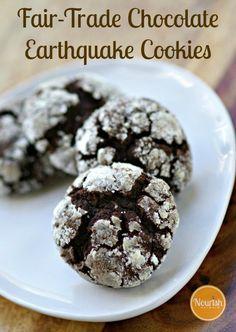 Fair-Trade Chocolate Earthquake Cookies