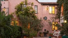 4808 Bonvue Ave, Los Angeles, CA 90027 (MLS William C. Hay commissioned architect Charles C. Kyson to design his personal residence in 1924 Architectural Digest, Luxury Real Estate, Sweet Home, Glamour, The Originals, Architecture, House Styles, Building, Beautiful