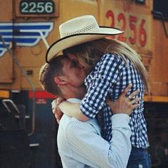 Cute county kisses