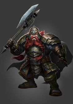 """Storm Galewind. Dwarven Priest of Loki.  Chaotic Good. Dedicated to restoring Loki's good name (""""Trickster deities are always misunderstood"""").  Brave and faithful companion in quests for good."""