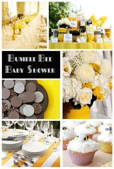 Bumble Bee Baby Shower Theme.... I love this!