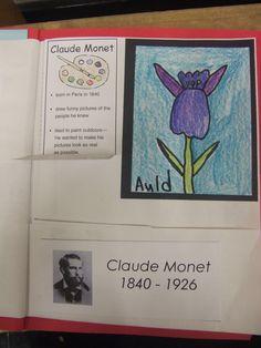 Artist Lapbook - Monet