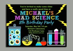 32 Best Science Party Images Science Books Birthday Party Ideas