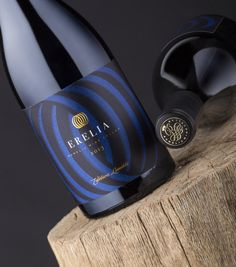 """"""" Erelia is a very new wine label I designed for one of the most amazing wineries in Bulgaria – the Rumelia Winery."""