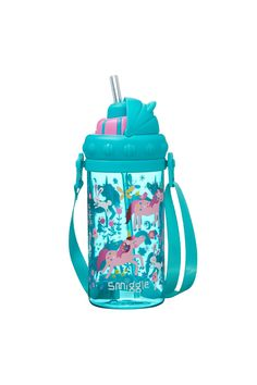 Buy Smiggle Topsy Teeny Tiny Bottle With Strap from the Next UK online shop Cute Water Bottles, Drink Bottles, Iphone Life Hacks, Dinner Wear, Baby Doll Nursery, Apple Watch Accessories, School Accessories, Water Bottle Design, Unicorn Cupcakes