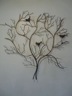"""Large Outdoor Metal Wall Art 