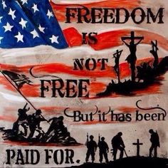Freedom is not free ** It's been paid for by the Brave.! A