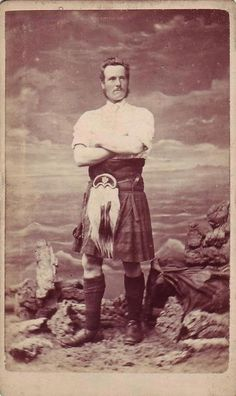 Great Scot, he's by the seaside !