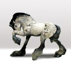 Belle Illusioni — Raku Hourse by: Elizabeth Ritte Ceramic Animals, Clay Animals, Ceramic Art, Horse Sculpture, Animal Sculptures, Creta, Raku Pottery, Wow Art, Art For Art Sake