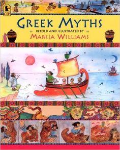 Greek Myths: Marcia Williams: 9780763653842: Amazon.com: Books