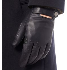 Alfred Dunhill Perforated Leather Driving Gloves | MR PORTER