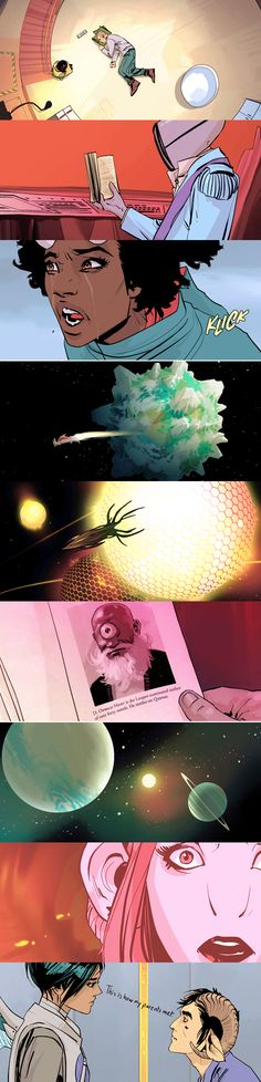 saga  by brian k. vaughan & fiona staples