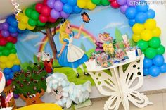 Alice in Wonderland Party #aliceinwonderland #party