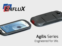 "Agilis Series: Premium Galaxy S3 Case by Enflux, via Kickstarter.  Unparalleled protective case with innovative ""Do anything, anywhere"" mounting system from Enflux for the Galaxy S3."