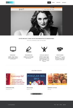 My website design layout