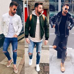 1 2 or 3? Which is your favorite? Follow @mensfashion_guide for more! By @chezrust  #mensfashion_guide #mensguides