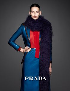 Amanda Murphy Stars in Pradasphere Campaign, shot by Ishi and styled by Victoria Gaiger.