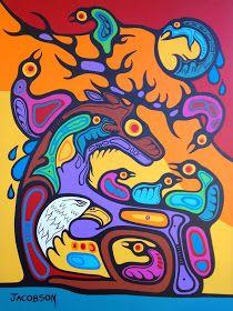 MARK ANTHONY JACOBSON CATALOGUE RAISONNÉ: Nature's Pride & Joy South American Art, Native American Art, Woodland Art, Haida Art, Indigenous Art, Aboriginal Art, Native Art, Acrylic Art, Indian Art