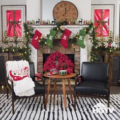 We're loving these 3 mix-and-match mantels. What's your favorite? Sponsored by @target.