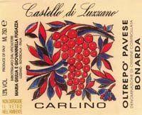 """LeDom du Vin: 2009 Castello di Luzzano """"Carlino"""" Bonarda dell' Oltrepo Pavese Lombardy Italy"""