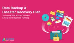 Did you know above 90% Of businesses fail without a data backup & recovery plan? Don't let that happen to your business. Connect with us and we will help you to secure your business data with our Data Backup & Disaster Recovery Plan. #datasecurity #datarecovery #databackup #cybersecurity #AlgolITSolutions Data Backup, Data Recovery, Up And Running, Connect, How To Plan, Business, Store, Business Illustration