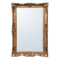 ACHICA | Cayx 185x122cm Bevelled Leaner Mirror, Gold