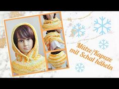 Kapuze/Mütze mit Schal häkeln ⛄ ganz einfach und schnell zu häkeln 😍 - YouTube Youtube, Home Decor, Scarf Crochet, Cowl, Handarbeit, Tutorials, Simple, Nice Asses, Decoration Home