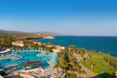 Standing right on the shore of the Aegean Sea, Iberostar Creta Panorama & Mare is an elegant and peaceful complex boasting a pool complex of 6 pools, a spa centre and 3 restaurants. Crete Island Greece, Spa Center, Hotel Deals, All Over The World, Dolores Park, Places, Water, Travel, Outdoor