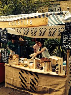 My Market Stall at Camden Lock Market TOASTITS X