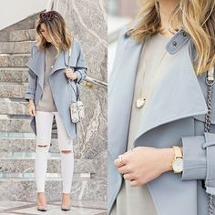 Click the photo to shop! | Stephanie Sterjovski wears a Chic Wish trench coat | Follow @liketoknowit on Pinterest for more outfit inspiration!