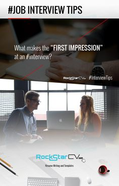 Interview Tips - http://rockstarcv.com/what-makes-first-impression-interview/ #Resume, #Template, #Creative Resume Design, #Teacher Resume, #Resume Style, #Resume Design, #Curriculum Vitae, #CV, #Resume Template, #Resumes, #Resume Format, #Modern Resume, #Word Resume