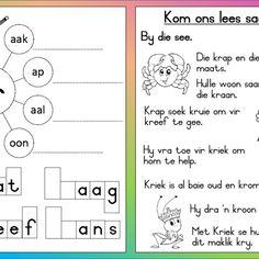 Kr woorde aflaaibare werkkaart Afrikaans Language, Worksheets, Bullet Journal, Learning, Words, Foundation, Google Search, Image, Afrikaans
